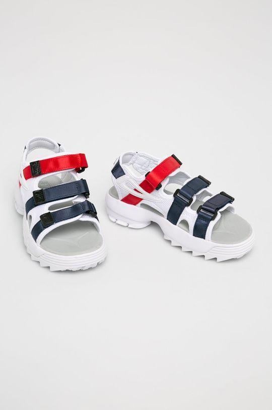 Fila - Sandále Disruptor biela