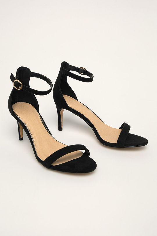Truffle Collection - Pantofi cu toc negru