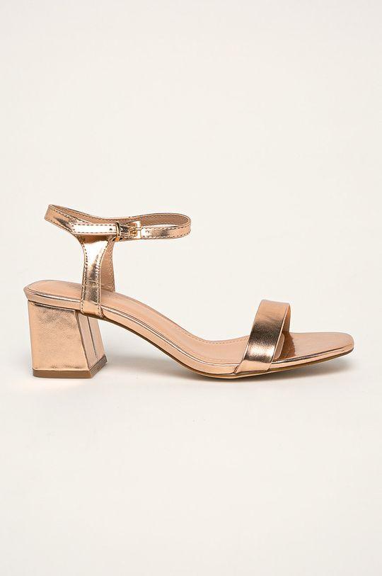 roz murdar Truffle Collection - Pantofi cu toc De femei