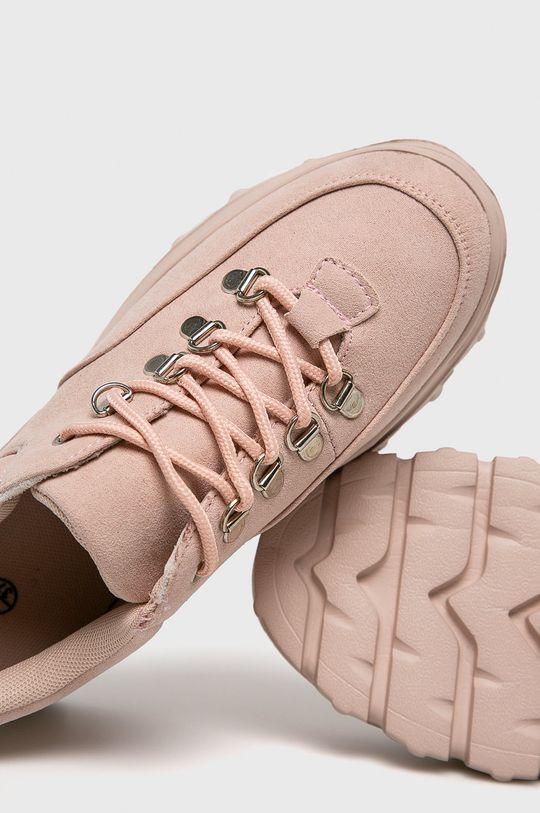 roz pastelat Truffle Collection - Pantofi NINETY1