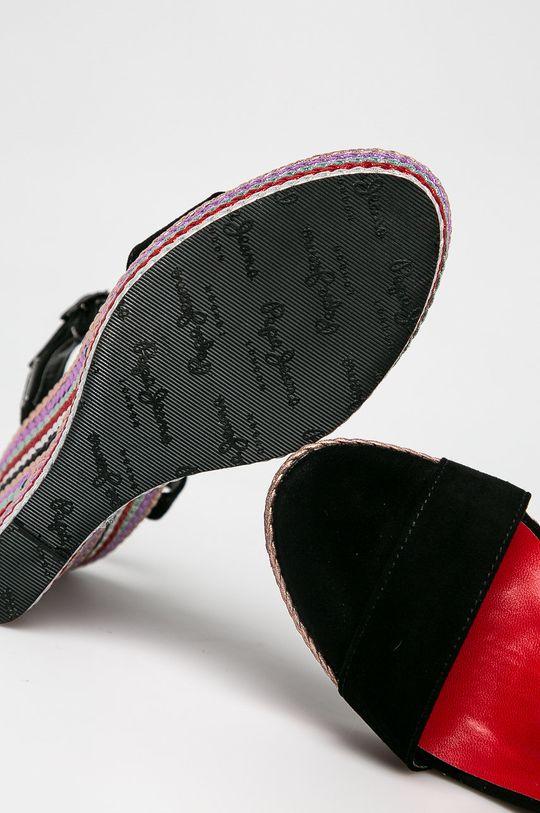 černá Pepe Jeans - Sandály