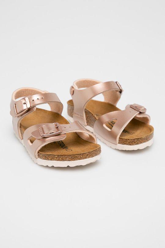 Birkenstock - Dětské sandály Rio Kids pastelová