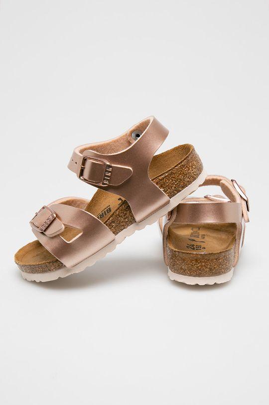 pastelová Birkenstock - Dětské sandály Rio Kids