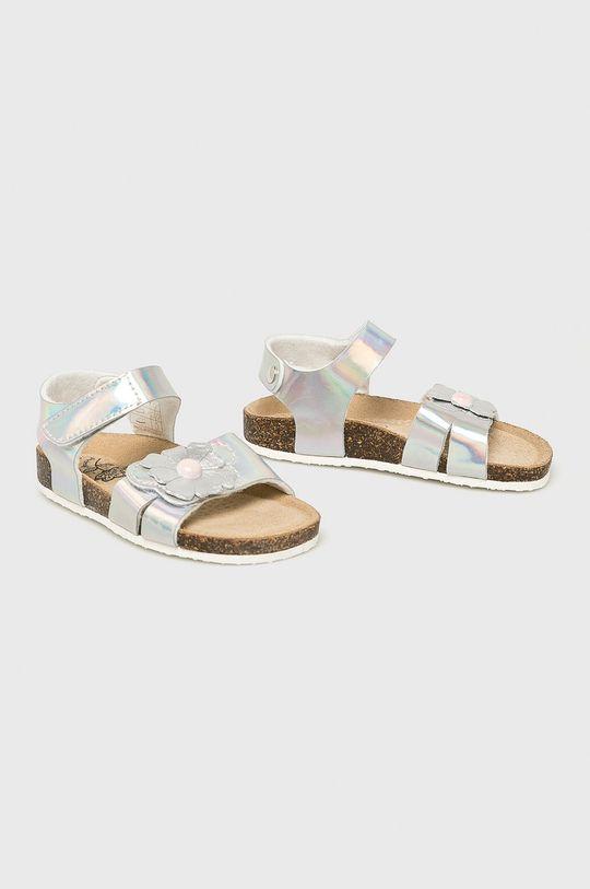 Primigi - Dětské sandály stříbrná