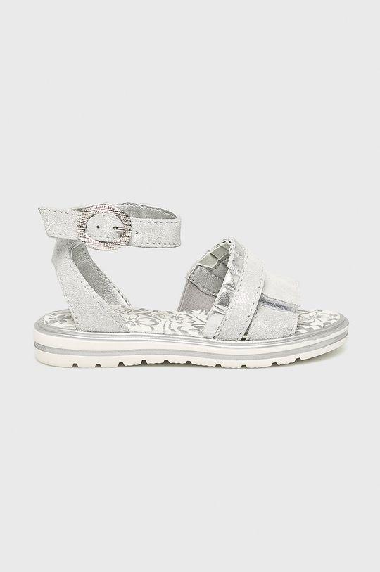 šedá Primigi - Dětské sandály Dívčí