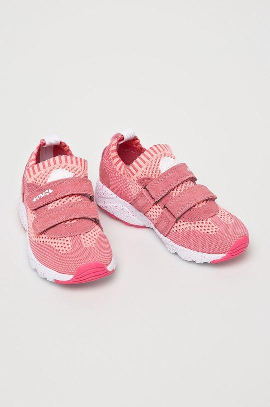Primigi - Dětské boty ostrá růžová