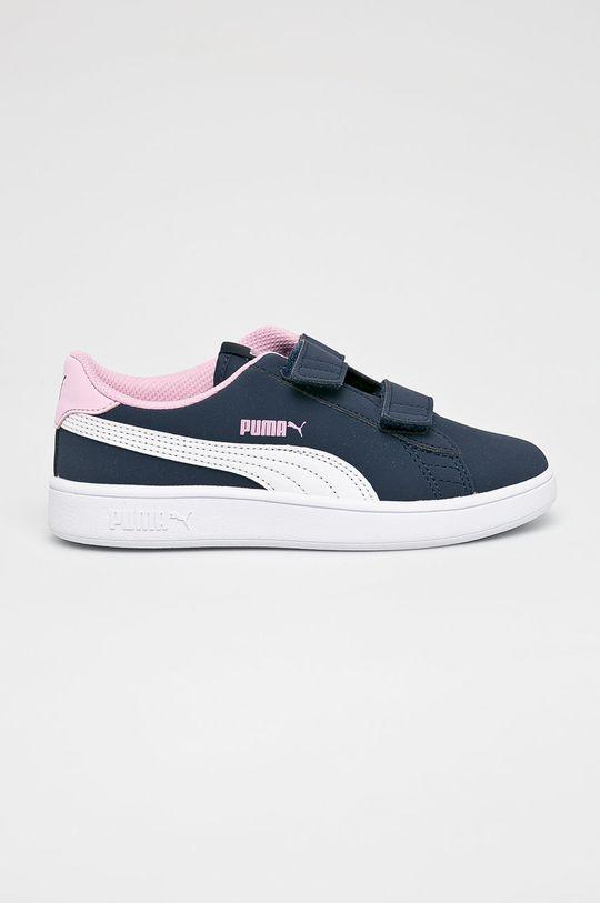 bleumarin Puma - Pantofi copii Smash v2 Buck V Ps De fete