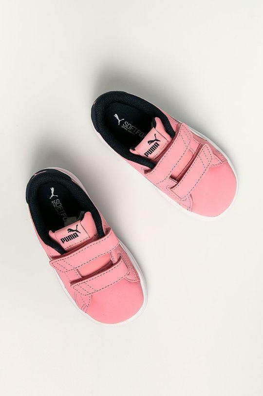 roz Puma - Pantofi copii Smash v2 Buck V Inf