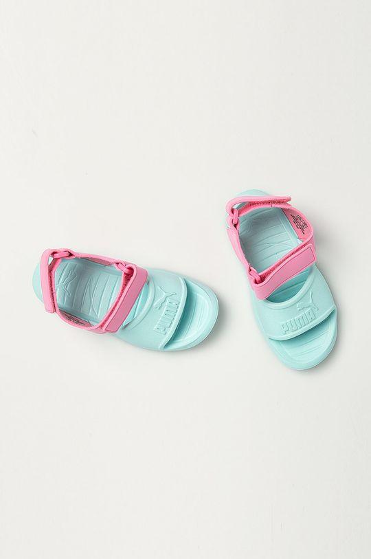 Puma - Detské sandále Divecat v2 Injex  Zvršok: Syntetická látka Vnútro: Syntetická látka, Textil Podrážka: Syntetická látka