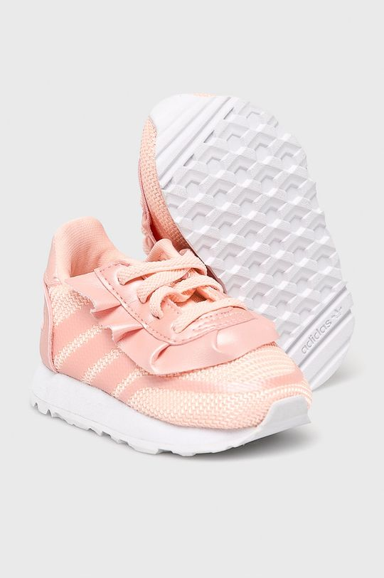 ružová adidas Originals - Detské topánky
