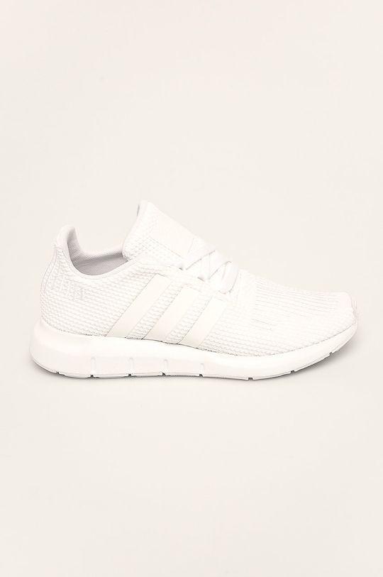 biela adidas Originals - Detské topánky Swift Run Dievčenský