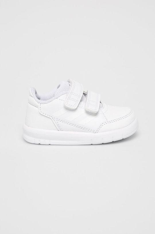 biela adidas Performance - Detské topánky Alta Sport CF I Dievčenský