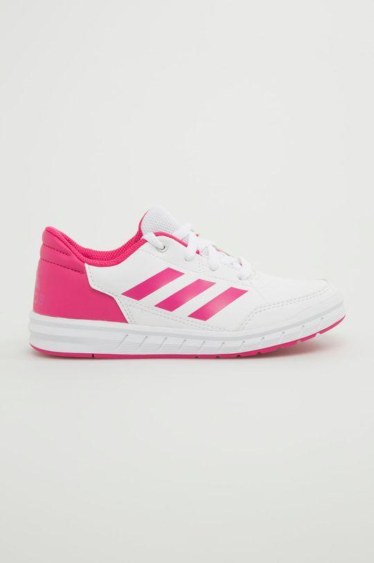ružová adidas Performance - Detské topánky Alta Sport K Dievčenský