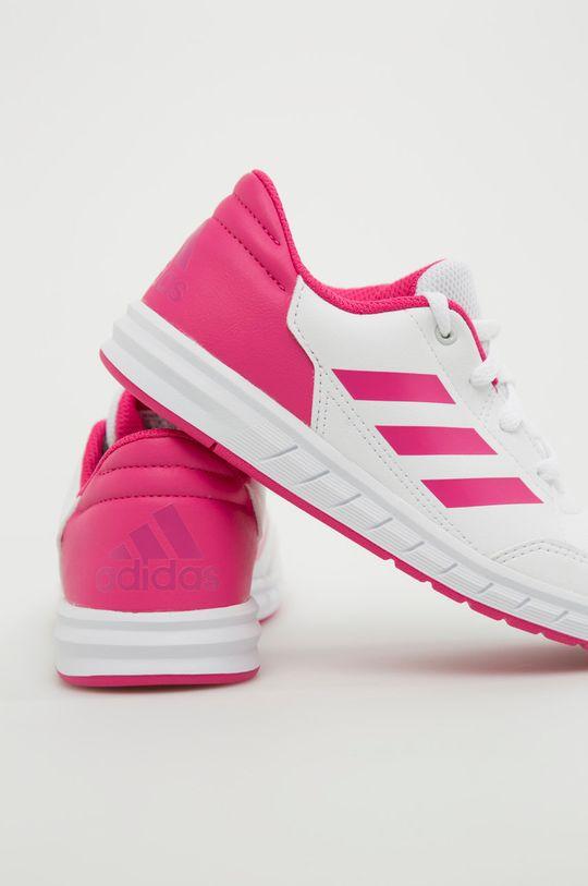 ružová adidas Performance - Detské topánky Alta Sport K