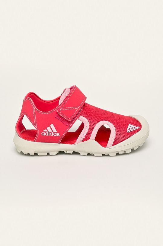 koralová adidas Performance - Detské sandále Captain Toey Dievčenský
