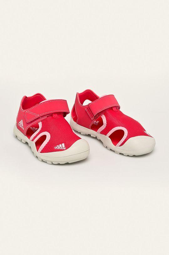 adidas Performance - Detské sandále Captain Toey koralová