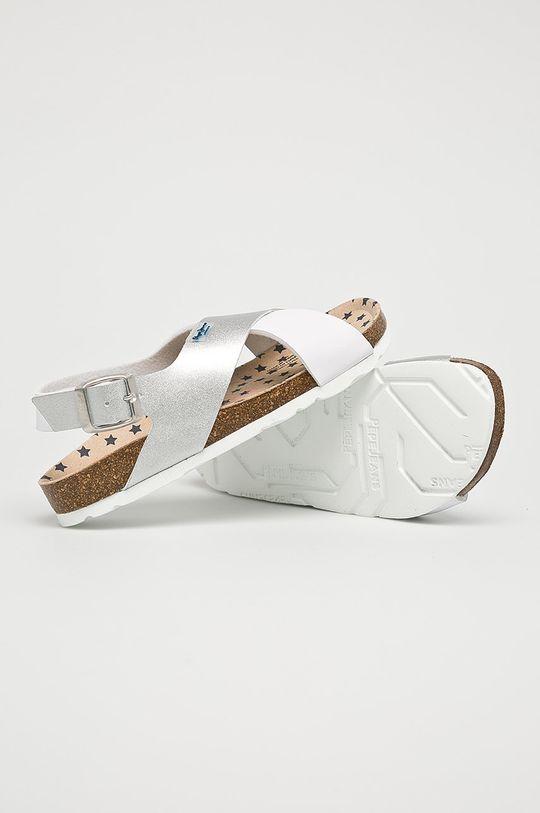 stříbrná Pepe Jeans - Dětské sandály