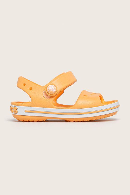 pomarańczowy Crocs - Sandały dziecięce Dziewczęcy