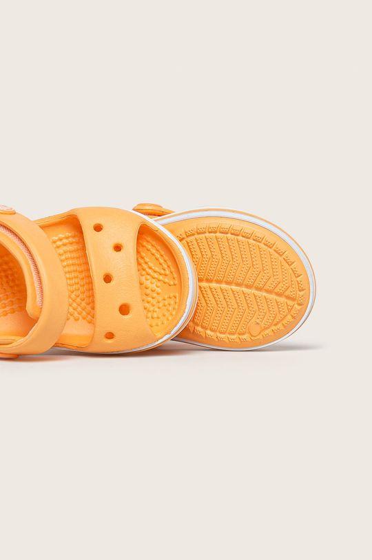 pomarańczowy Crocs - Sandały dziecięce