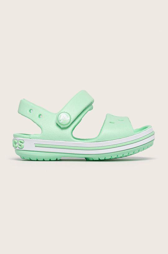 zelená Crocs - Dětské sandály Dívčí