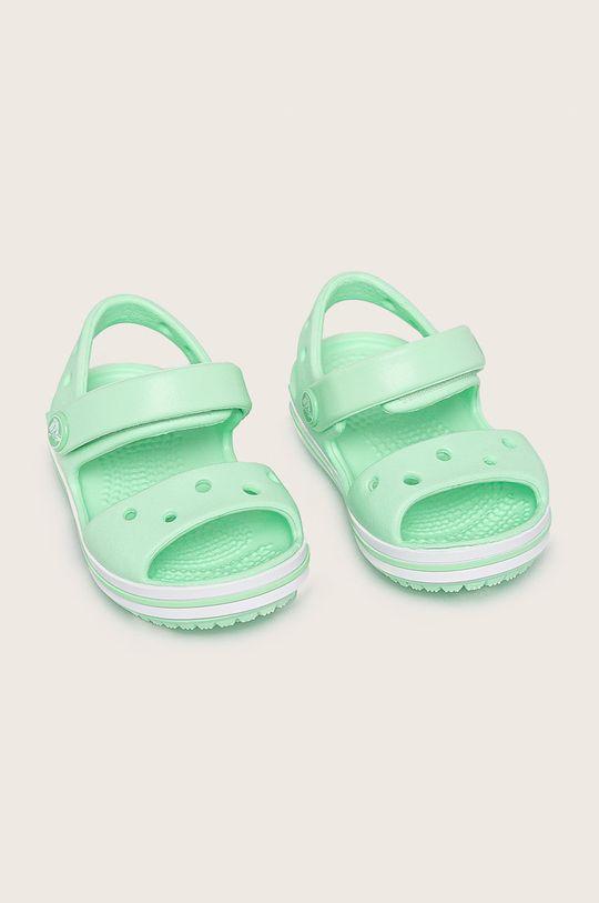 Crocs - Dětské sandály zelená