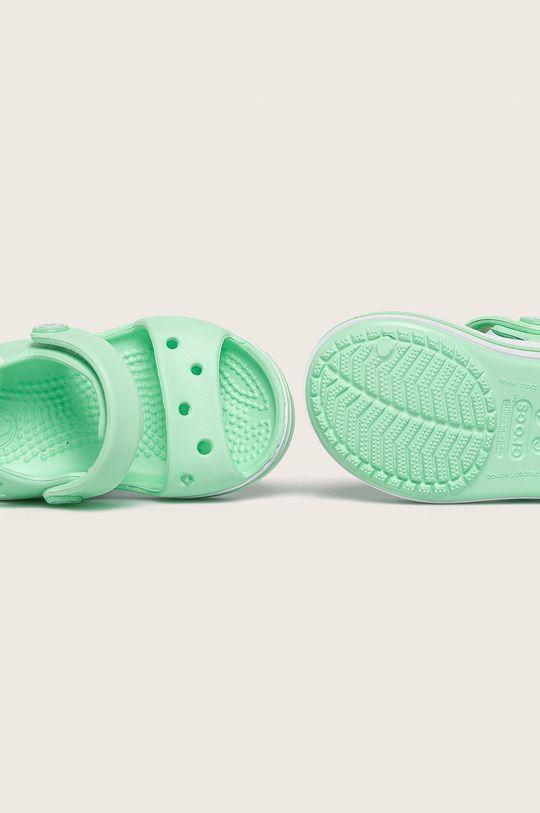 zelená Crocs - Dětské sandály
