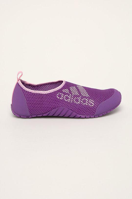 fialová adidas Performance - Detské topánky Kurobe Dievčenský