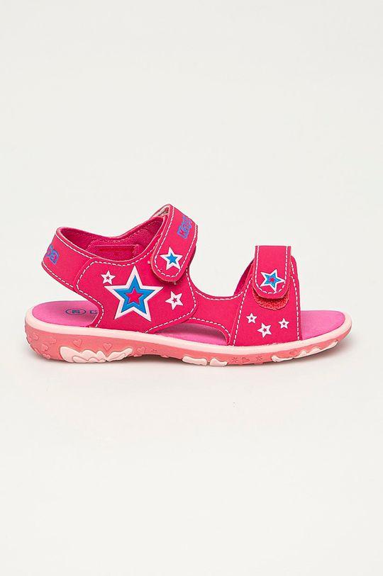 ostrá růžová Kappa - Dětské sandály Starway Dívčí