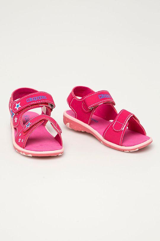 Kappa - Dětské sandály Starway ostrá růžová