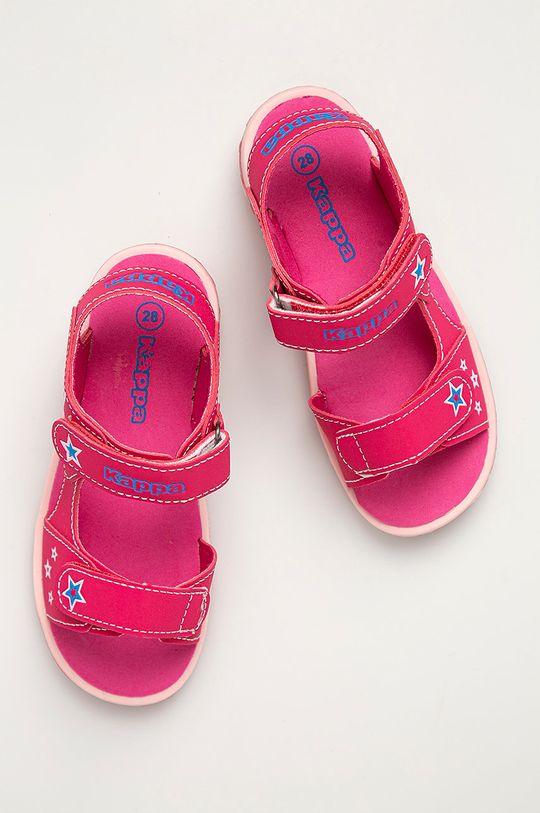 ostrá růžová Kappa - Dětské sandály Starway
