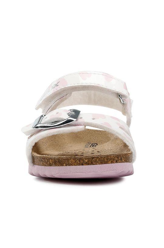 Geox - Detské sandále <p>Zvršok: Syntetická látka Vnútro: Textil, Prírodná koža Podrážka: Syntetická látka</p>