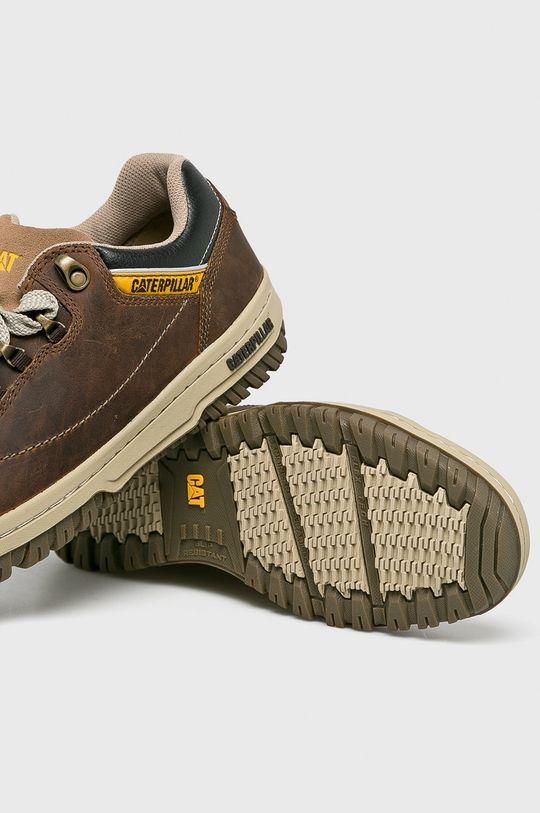 hnedá Caterpillar - Topánky Apa