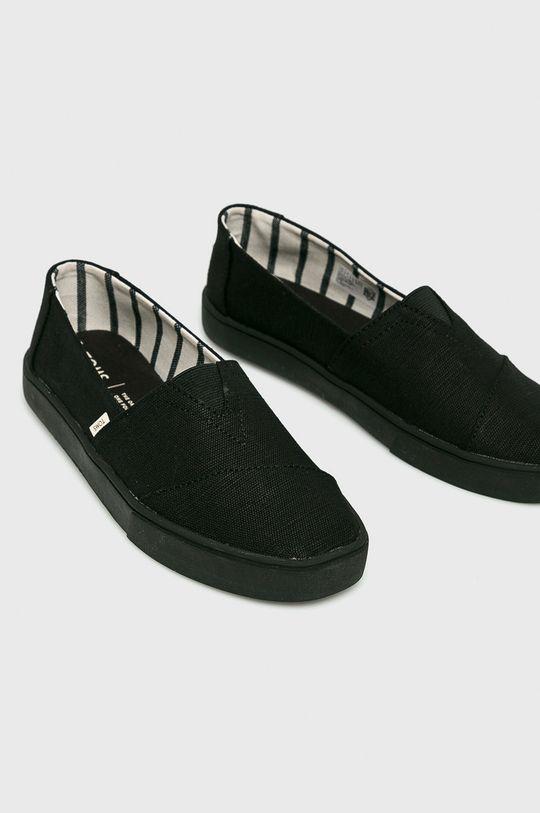 Toms - Espadryle Classic czarny