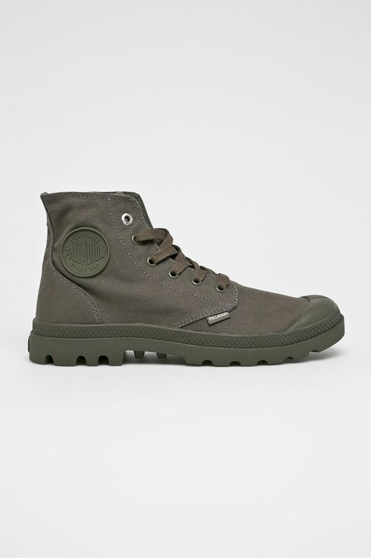 šedá Palladium - Kotníkové boty Pánský