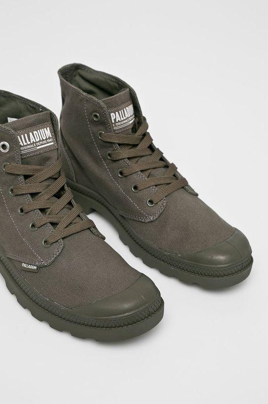 Palladium - Kotníkové boty šedá
