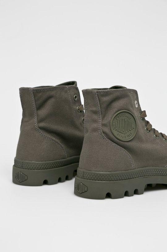 šedá Palladium - Kotníkové boty