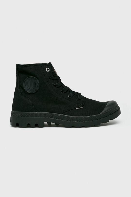 černá Palladium - Kotníkové boty Pánský
