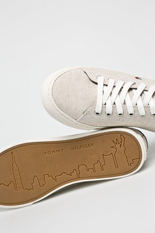 Tommy Hilfiger - Sportcipő Seasonal Textile Sneaker  Szár: textil Belseje: textil Talp: szintetikus anyag
