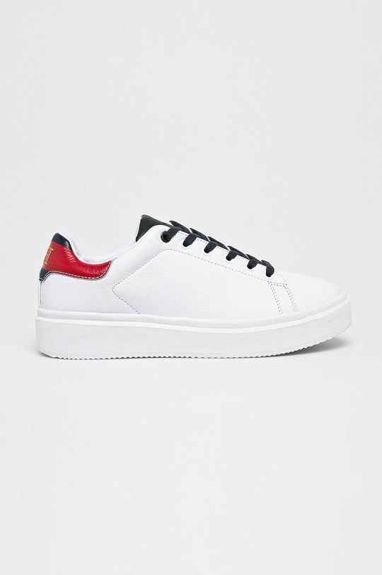 fehér Tommy Hilfiger - Cipő Luxury Corporate Sneaker Férfi