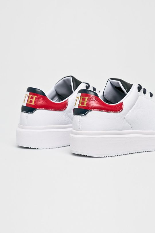 Tommy Hilfiger - Cipő Luxury Corporate Sneaker fehér