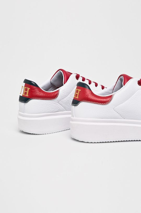 Tommy Hilfiger - Cipő Luxury Corporate Sneaker  Szár: természetes bőr Belseje: szintetikus anyag, természetes bőr Talp: szintetikus anyag