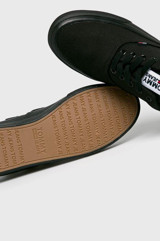 fekete Tommy Jeans - Sportcipő Logo Classic Tommy Jeans Sneaker