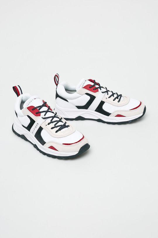 Tommy Hilfiger - Cipő Fashion Mix Sneaker fehér