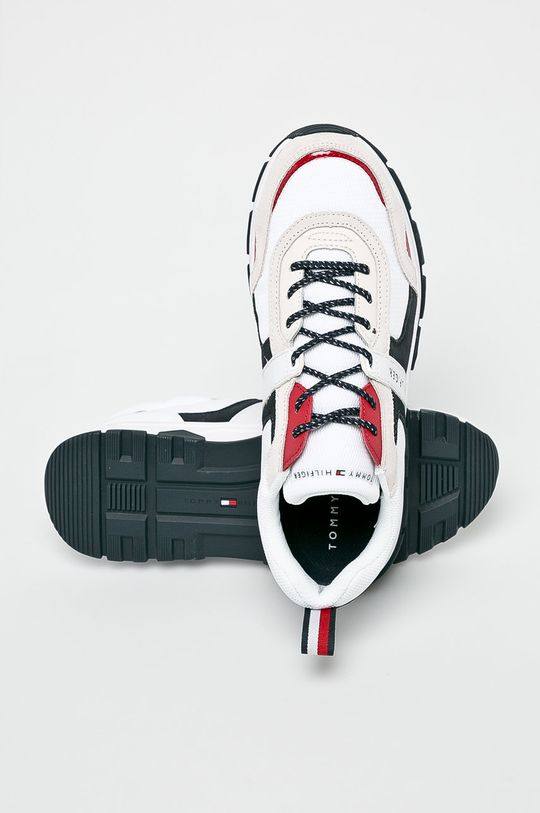 fehér Tommy Hilfiger - Cipő Fashion Mix Sneaker