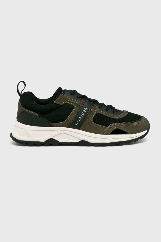 fekete Tommy Hilfiger - Cipő Fashion Mix Sneaker Férfi