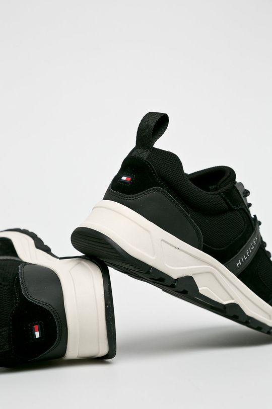 Tommy Hilfiger - Cipő Fashion Mix Sneaker  Szár: textil, természetes bőr Belseje: textil Talp: szintetikus anyag