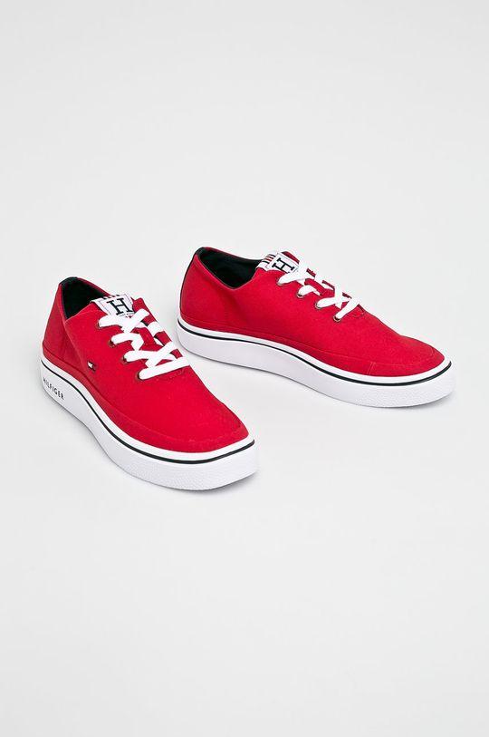 Tommy Hilfiger - Cipő Lightweight piros