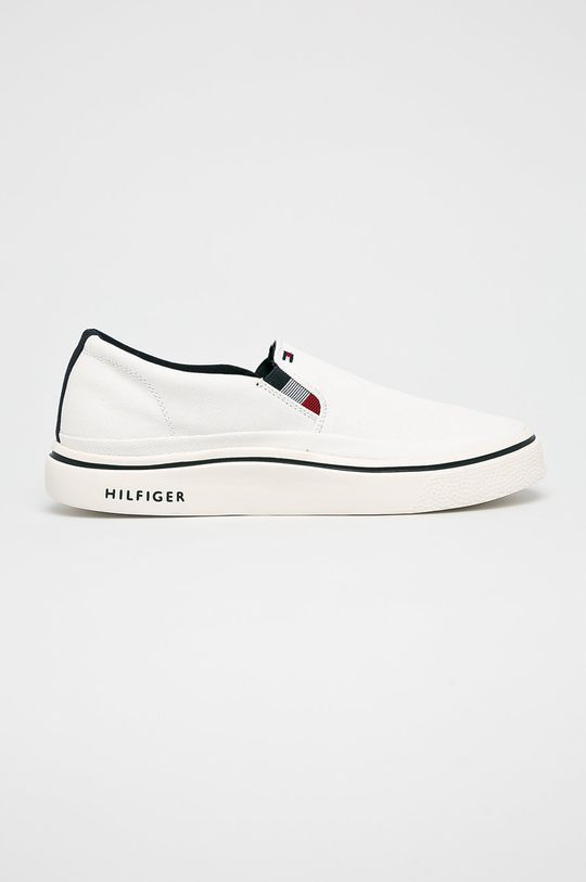 fehér Tommy Hilfiger - Sportcipő Lightweight Slip On Sneaker Férfi