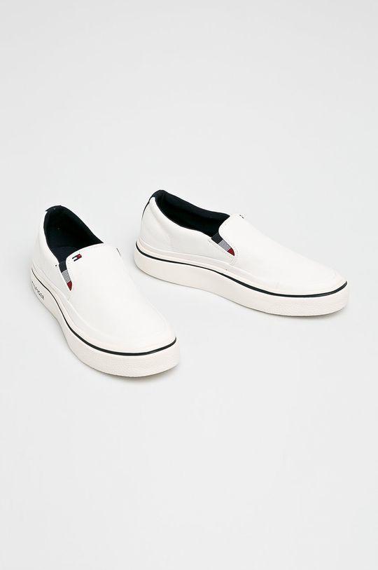 Tommy Hilfiger - Sportcipő Lightweight Slip On Sneaker fehér