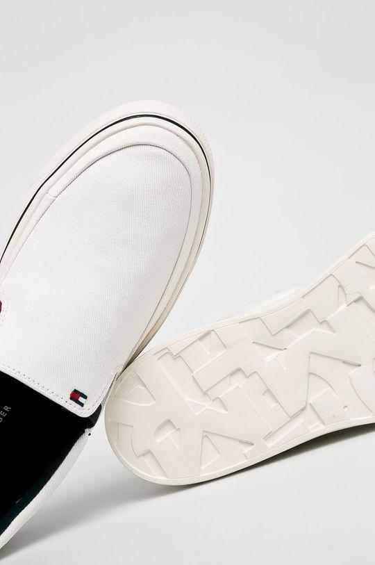 fehér Tommy Hilfiger - Sportcipő Lightweight Slip On Sneaker